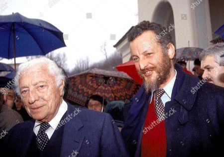 GIOVANNI AGNELLI AND HIS SON EDOARDO