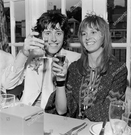 Donovan and wife Linda Lawrence