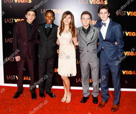 Editorial picture of 'Last Vegas' film premiere, New York, America - 29 Oct 2013
