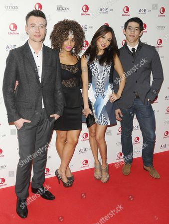 Shane O'Meara, Adiza Shardow, Elizabeth Tan and Chris Chung