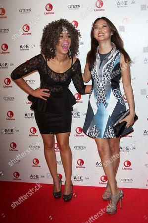 Adiza Shardow and Elizabeth Tan