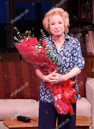 Editorial image of 'Becoming Dr Ruth' play opening night, New York, America - 29 Oct 2013