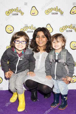 Rani Price & kids