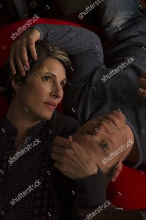 Tamsin Greig as DC Maggie Brand and Jamie Sives as Jeb Colman.