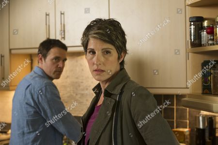 Jamie Sives as Jeb Colman and Tamsin Greig as DS Maggie Brand.