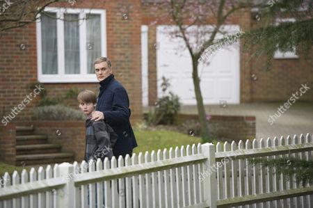 Stock Photo of Darren Boyd as Daniel Reid and Jude Foley as Luke Reid