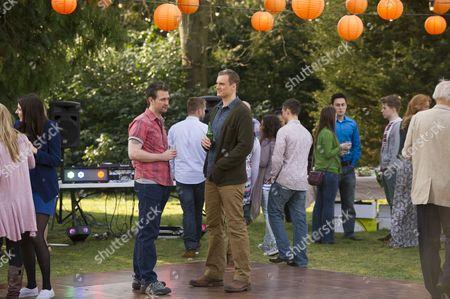 Glen Wallace as Sean O'Donnell and Darren Boyd as Daniel Reid.