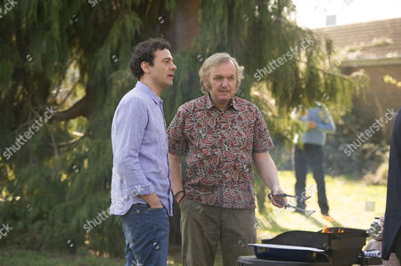 Stock Image of Milo Twomey as Joe Wightman and Alan Williams as Frank Lawson.
