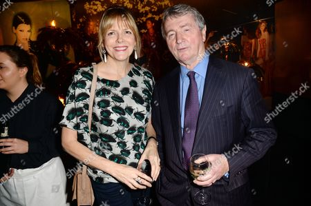 Carol Woolton and Stephen Quinn
