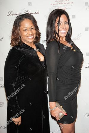 Stock Picture of Liz Gaspari and guest