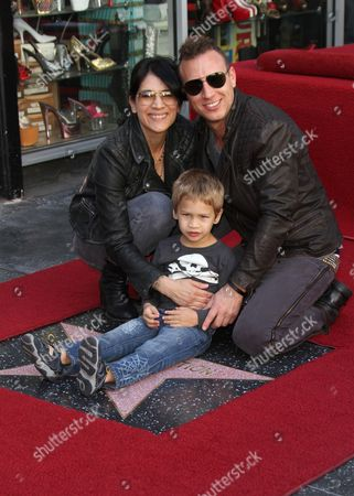 Stephen Perkins and family