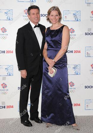 Lord Sebastian Coe and wife Carole Annett