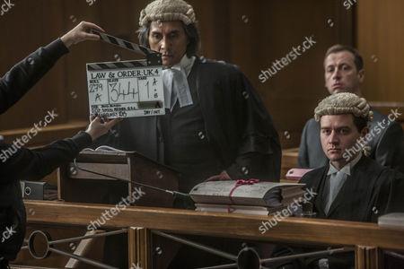 Behind the scenes. Ramon Tikaram as Vijay Prasad.