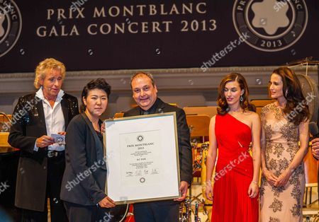 Editorial photo of Prix Montblanc, Berlin, Germany - 30 Oct 2013