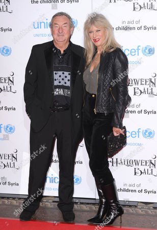 Nick Mason and wife Annette