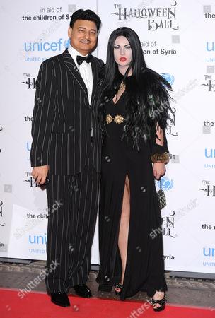 Natalia Shmarenkova and husband Mohammad Zahoor