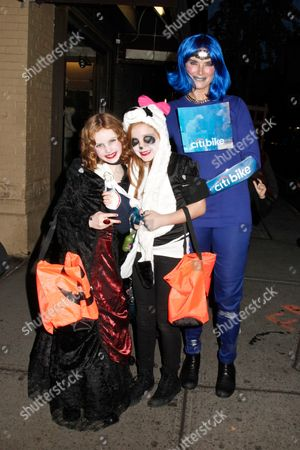 Brooke Shields with daughters Rowan Henchy and Grier Henchy