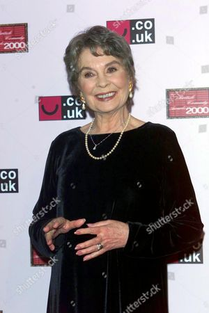 JEAN SIMMONS AT THE BRITISH COMEDY AWARDS 2000