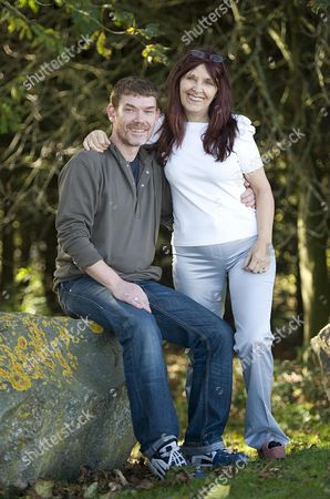 Asperger's Syndrome Sufferer Gary Mckinnon Pictured With His Mother Janis Sharp After Finding Out That He Will Not Be Sent To Stand Trial In The United States For Hacking Into The Pentagon's Computer.