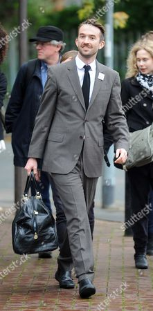 Stock Photo of Trenton Oldfield Arrives At Isleworth Crown Court.