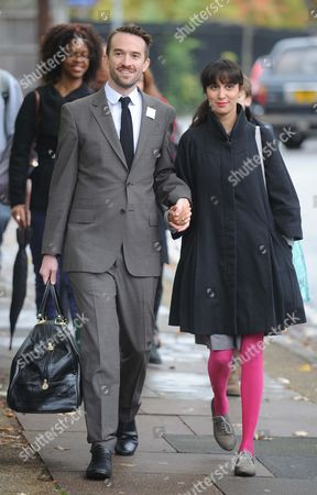 Trenton Oldfield Arrives At Isleworth Crown Court With His Girlfriend.