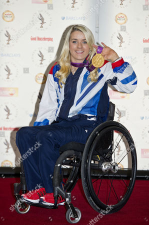Stock Picture of The Women Of The Year Awards 2012 Intercontinental Hotel Park Lane London. Paralympic Athlete Josie Pearson Arrives At The Lunch.