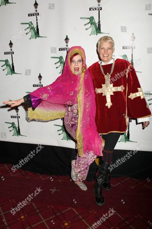 Kate Pierson and Monica Coleman