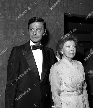Louis Jourdan and wife