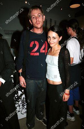 Pia Miranda with boyfriend at the opening night of Fireface, a play written by Marius Von Mayenburg, Wharf 2 Theatre, Australia - 06/01/01