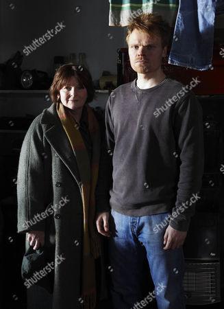 Brenda Blethyn as Vera Stanhope, Richard Riddell as Robert Doran