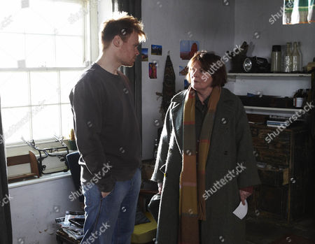 Richard Riddell as Robert Doran and Brenda Blethyn as Vera Stanhope