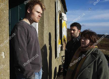 Richard Riddell as Robert Doran, Jon Morrison as DC Kenny Lockhart and Brenda Blethyn as Vera Stanhope