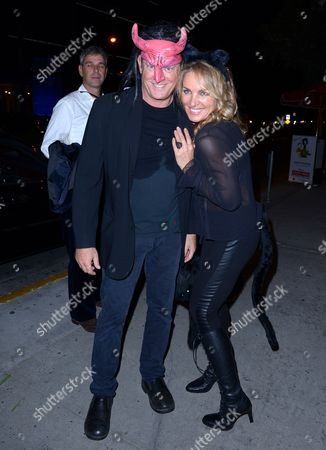 Editorial image of Celebrities at the Halloween parade, Los Angeles, America - 31 Oct 2013