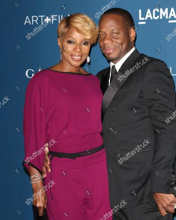 Mary J Blige and husband Kendu Isaacs