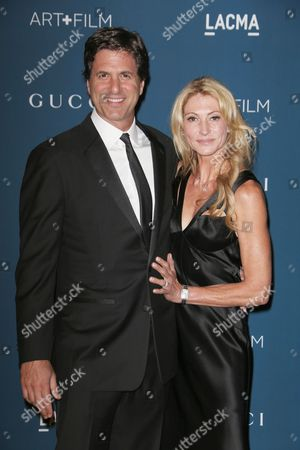 Steven Levitan and wife Krista Levitan