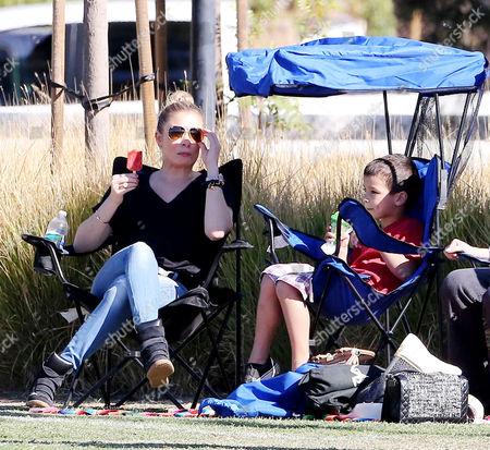LeAnn Rimes with Jake Cibrian
