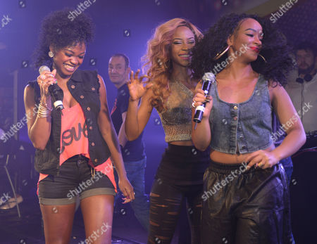 Stock Photo of Miss Dynamix - Jeanette Akua, Sese Foster and Rielle Carrington