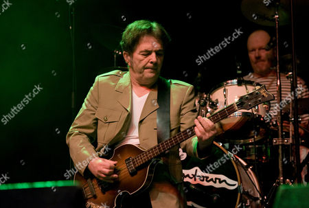 Stock Picture of The Boomtown Rats - Pete Briquette and drummer Simon Crowe