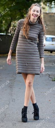 Editorial picture of Natasha Hulse out and about, London, Britain - 29 Oct 2013