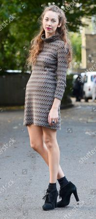 Editorial photo of Natasha Hulse out and about, London, Britain - 29 Oct 2013