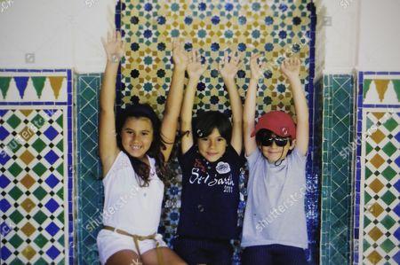 Children of Arturo Montiel and Maude Versini