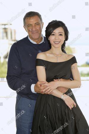 Luca Barbareschi and Zhang Jingchu