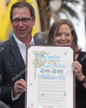 Editorial image of Janis Joplin Honoured with a star on The Hollywood Walk Of Fame, Los Angeles, America - 04 Nov 2013