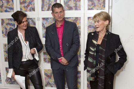 Dorothy Berwin, Tom Kirdahy and Joyce Hytner