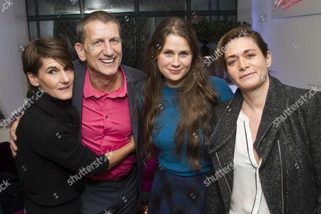 Mel Kenyon, Tom Kirdahy, Lucy Kirkwood and Dorothy Berwin