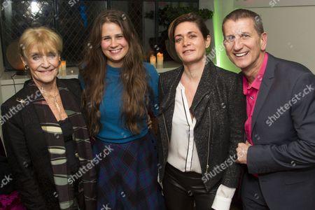 Stock Image of Joyce Hytner, Lucy Kirkwood, Dorothy Berwin and Tom Kirdahy