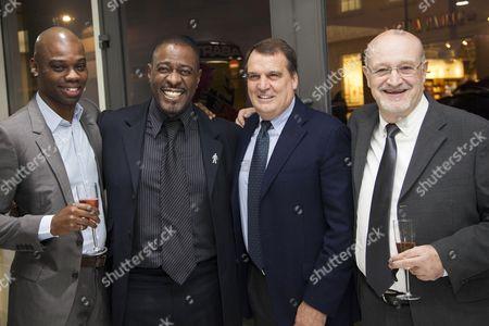 Stock Picture of George Ndah, Winston Ellis, Maro Tardelli and Maurizio Beni