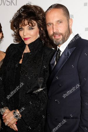 Joan Collins and Alexis Bittar