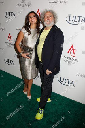 Kate Falchi and Carlos Falchi