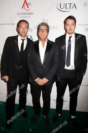 David Neville, Andrew Rosen and Marcus Wainwright